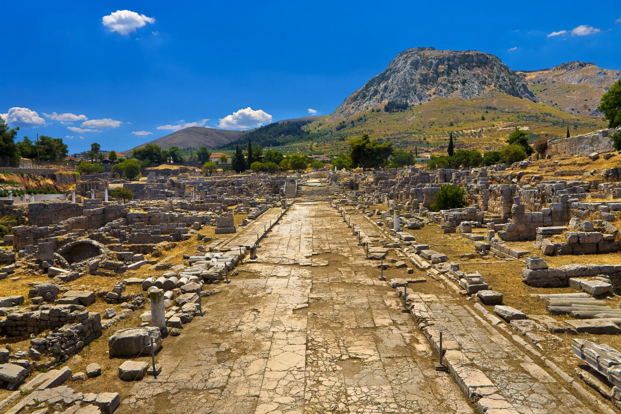 Christian Tours In Athens And Corinth In The Footsteps