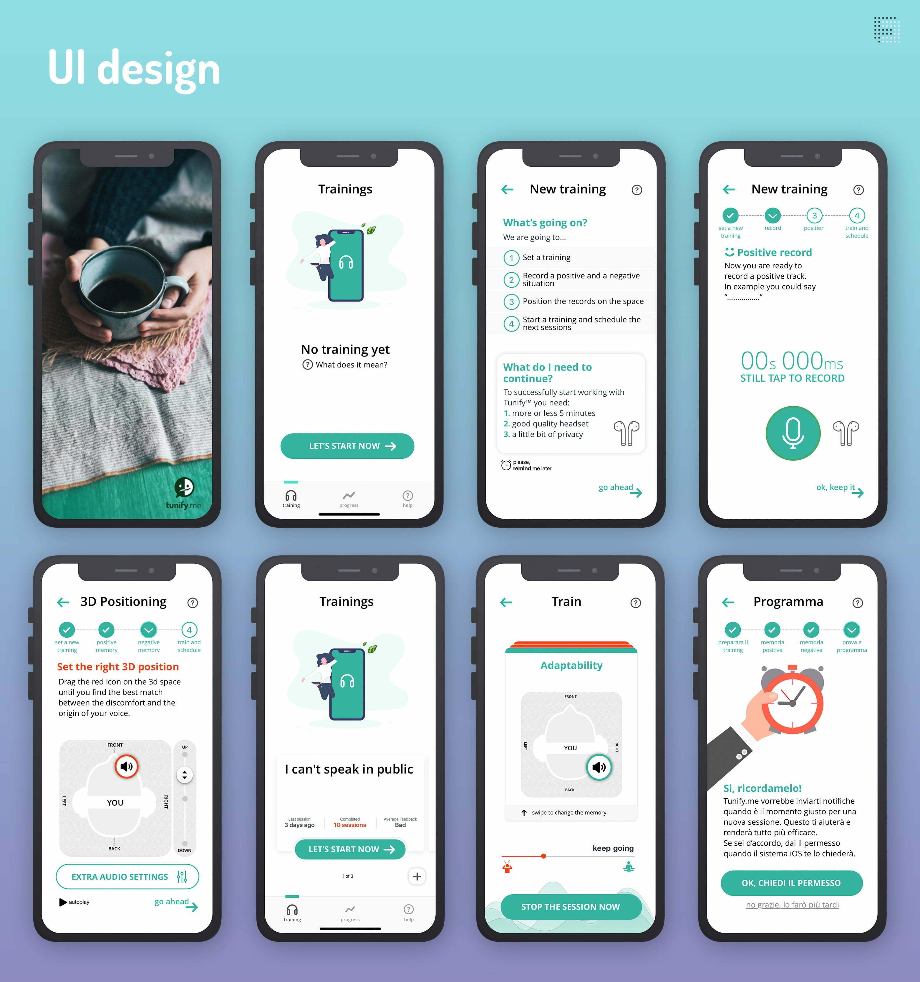 Tunify-UI-design