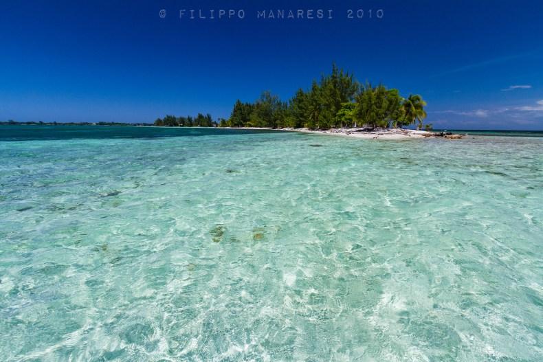 Water Cay, Utila, Honduras, Caribbean Sea, tropical island, paradise