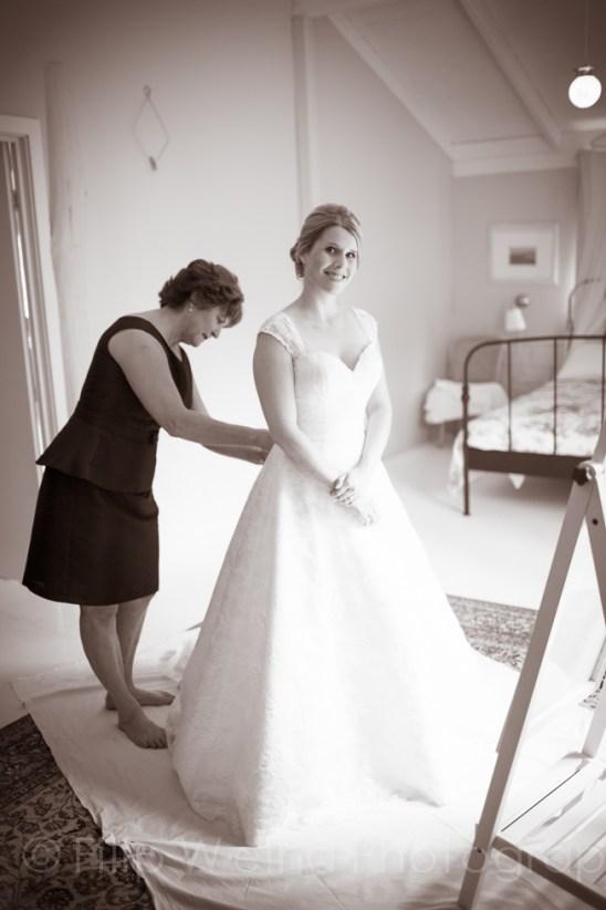 Our gorgeous bride
