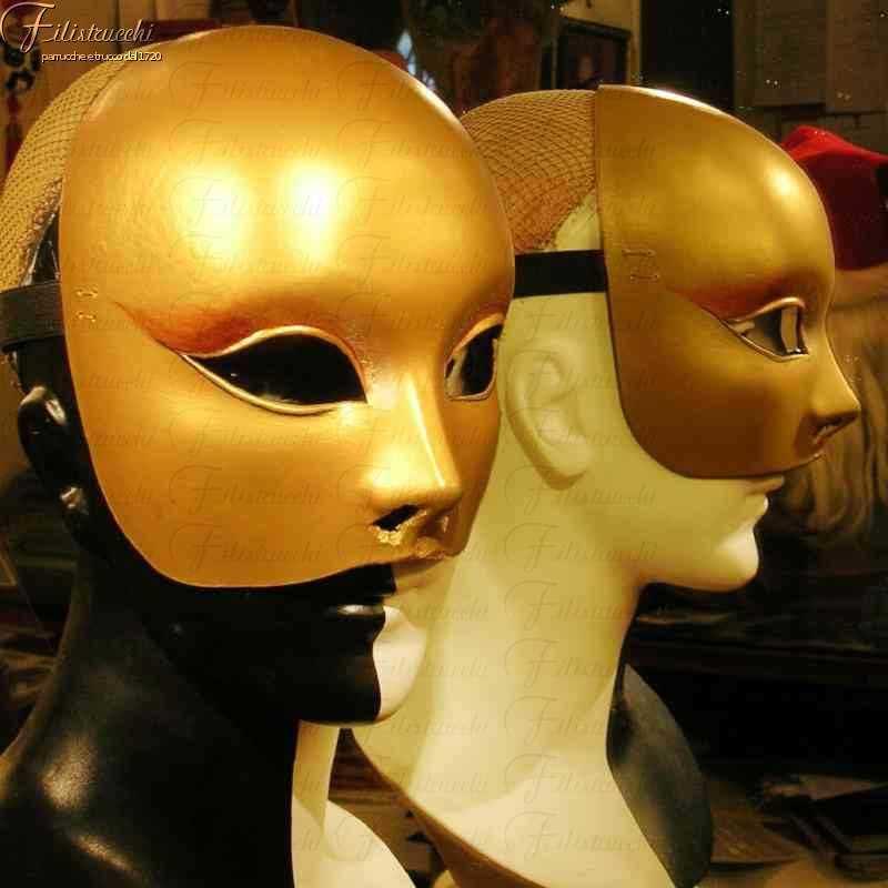 Handmade papier maché masks - Filistrucchi Firenze - Italia