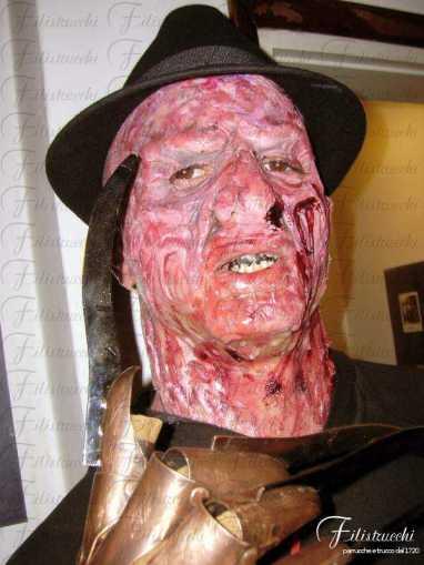 Immagine che rappresenta una interpretazione del personaggio cinematografico Freddy Krueger
