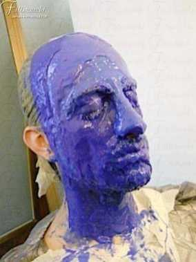 Fasi di realizzazione di una maschera in silicone