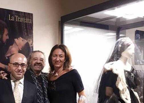 Gherardo e Gabriele con Pilar Lebole
