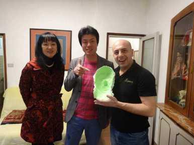Kazuco Usui, Hiroaki Omote, Gherardo