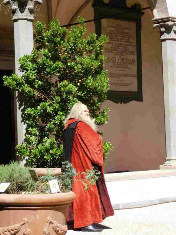 Passeggiata Botanica Leonardiana all'interno del Chiosco dell'Ospedale di Santa Maria Nuova ( (8)
