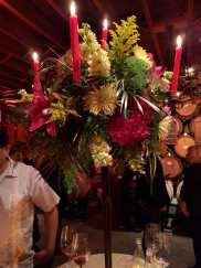 v. sattui floral arrangement
