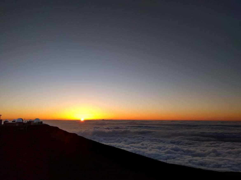 maui Haleakala Sunset