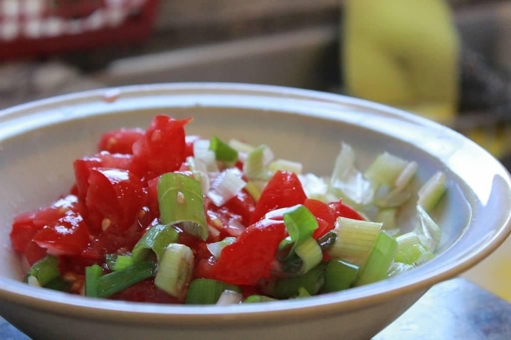 vegetables for rellenong bangus white milkfish