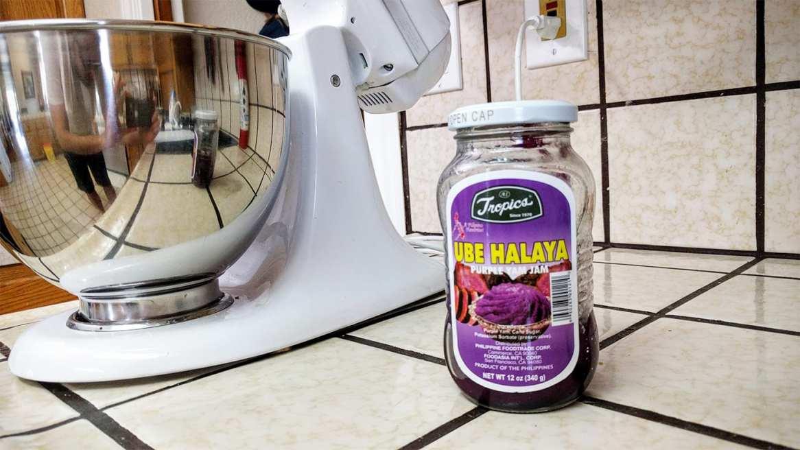 Hawaiian Purple Ube Halaya