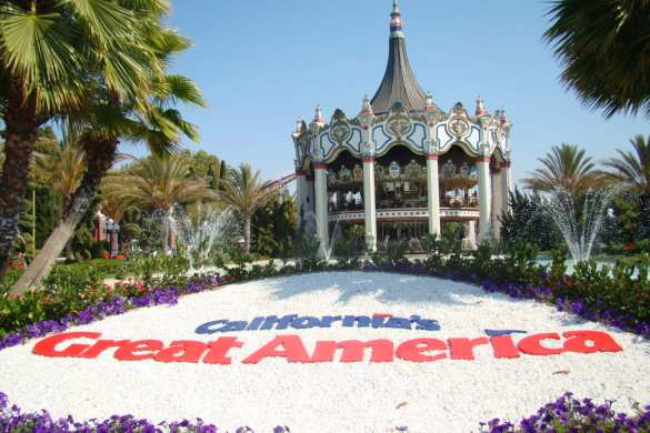 flying lad californias great america