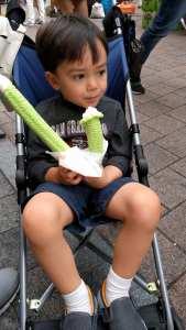 ice cream tube