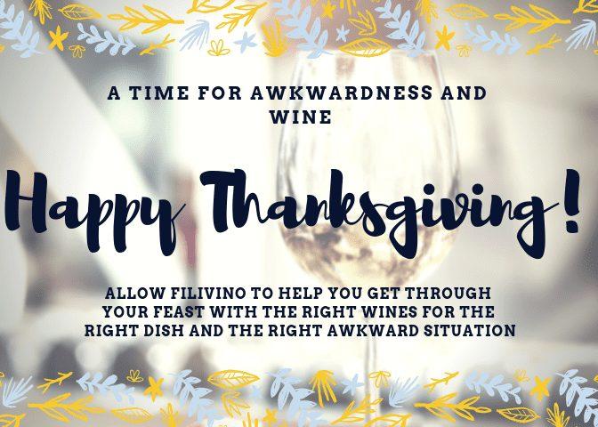 thanksgiving wine 2018