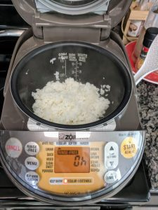 beef caldereta rice