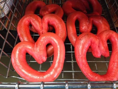 Valentine's Day Bagels