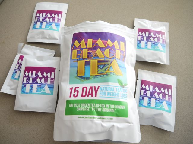 cure detox teatox miami beach tea