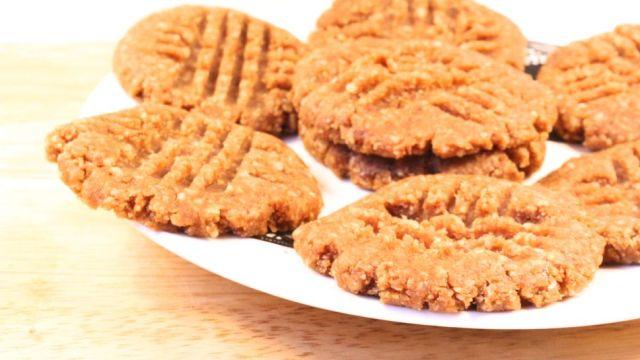 recette cookies au beurre de cacahuètes
