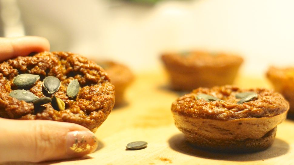 recette muffins patate douce
