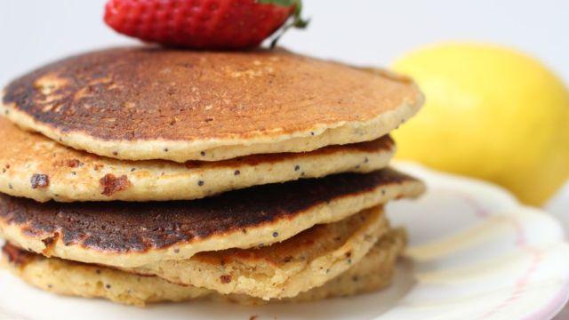 recette pancakes citron healthy