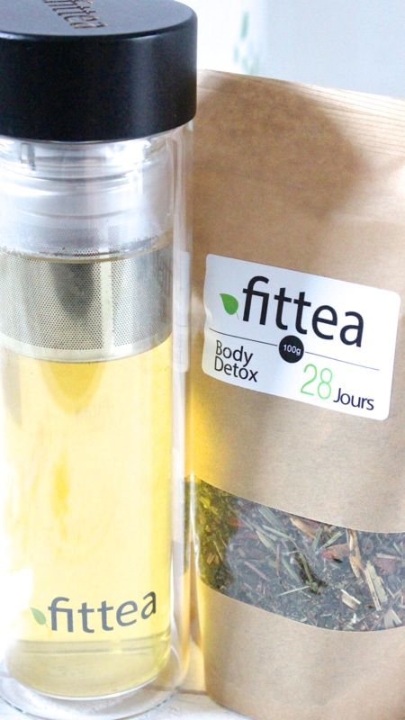 Fittea est une marque de thé allemande, je l'ai testé et je vous donne mon avis.