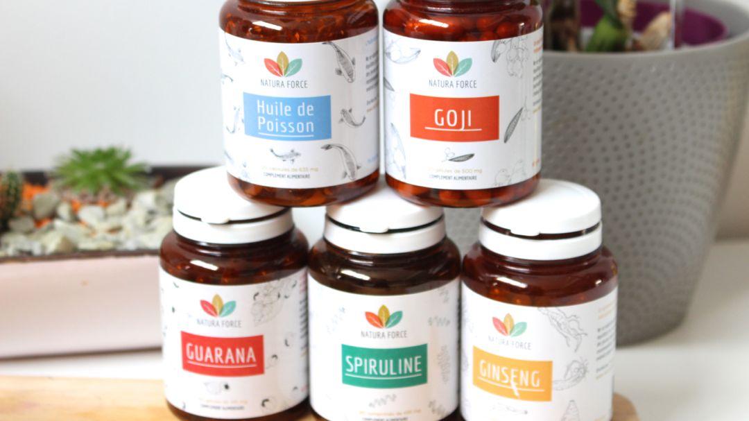 Natura Force est une marque Française proposant des compléments alimentaires 100% naturels pour la forme et le bien-être