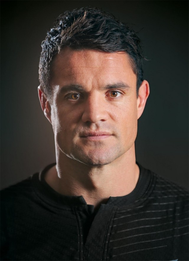 during a New Zealand All Blacks Rugby World Cup Squad Portrait Session on August 31, 2015 in Wellington, New Zealand.