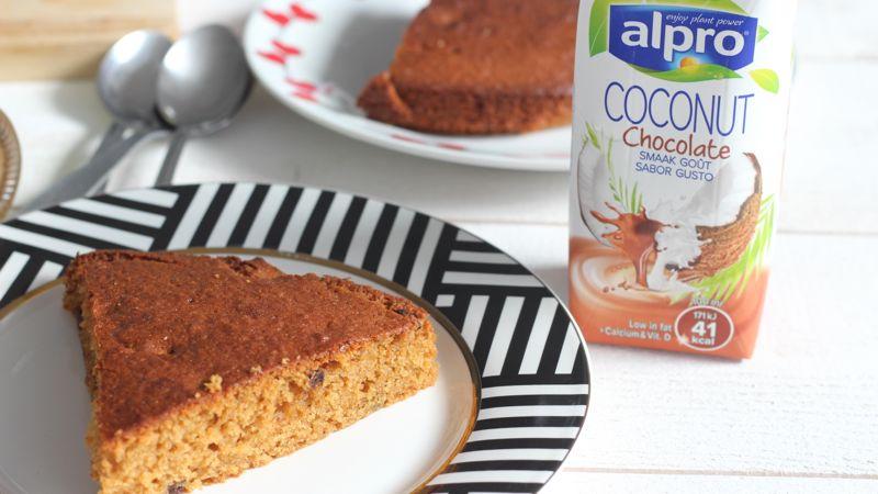 Gâteau à l'huile de coco et citron
