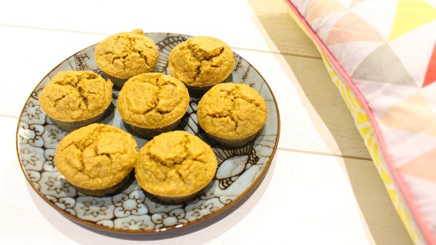 Muffins patate douce, moelleux et délicieux
