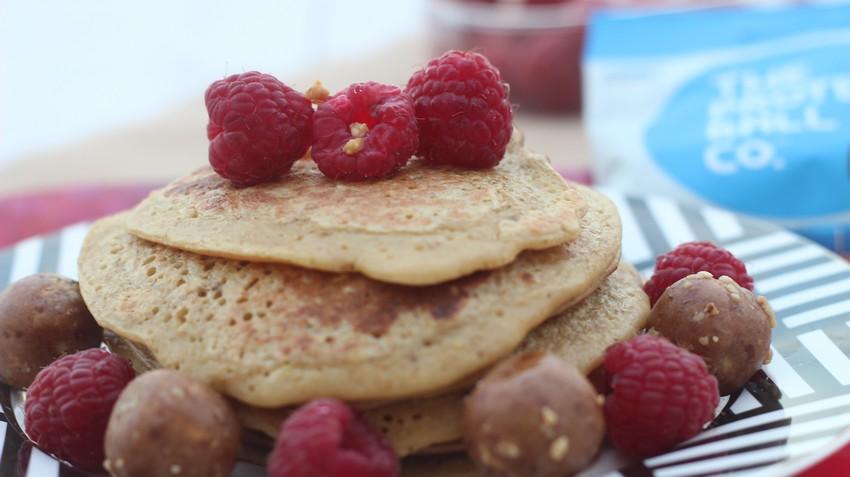 Pancakes citron healthy pour votre petit déjeuner