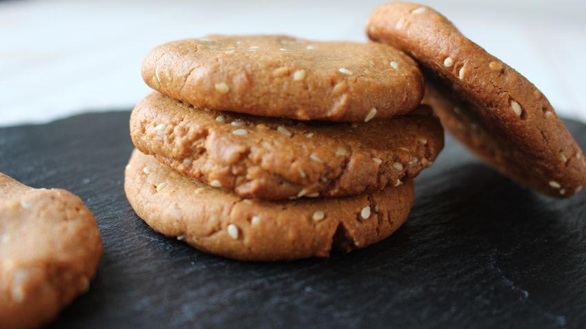 Cookies beurre de cacahuètes et sésame