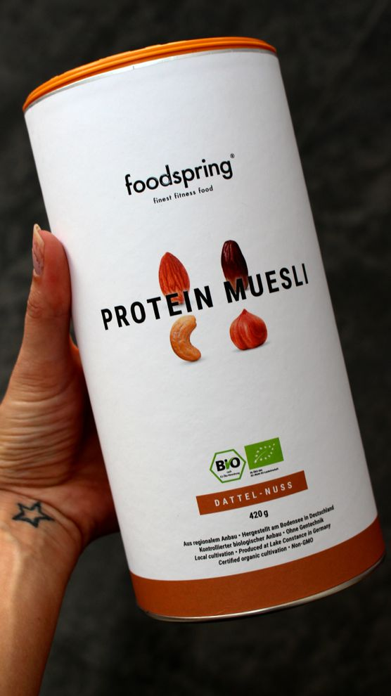foodspring nutrition sportive