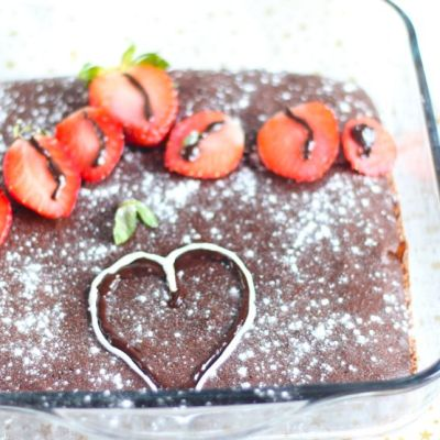Brownie healthy au chocolat fondant