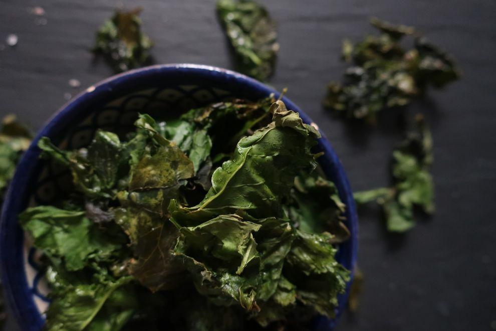 Chips kale pour l'apéritif