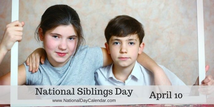 National, Siblings Day, 2018, Celebrated, April 10, Know, more, about, Siblings Day