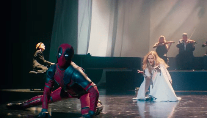 Celine Dion, Dances, Ashes, Music, Video, 2018, Ryan Reynolds, Deadpool 2