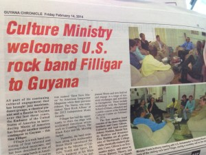 In the Guyana news