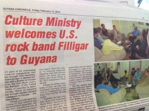 In the Guyana news