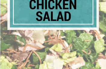 Oriental Chicken Salad - www.fillingthejars.com