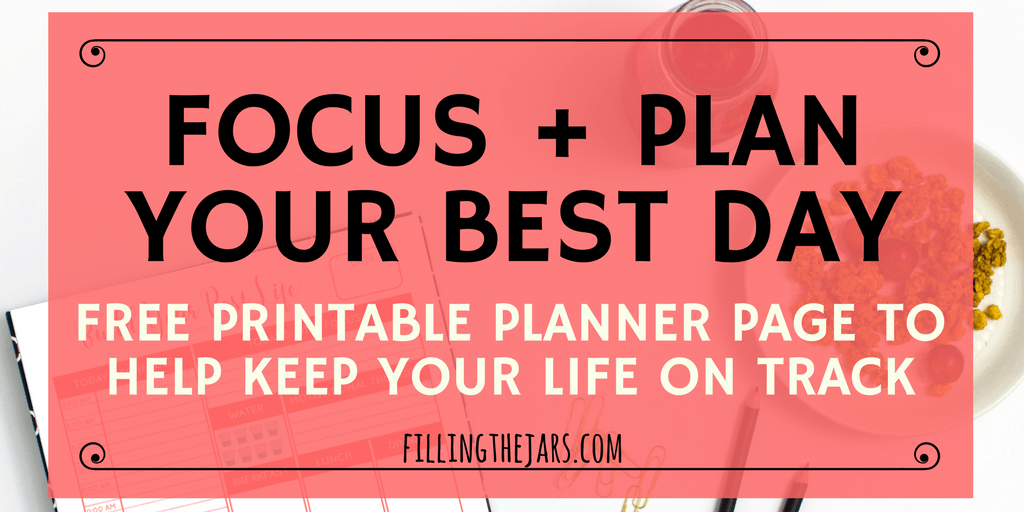 keep your life on track with a free printable daily planner page daily schedule