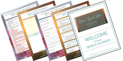 Get your Simple Summer Planner Printable Bundle | Everything you need to help you create your best summer ever.
