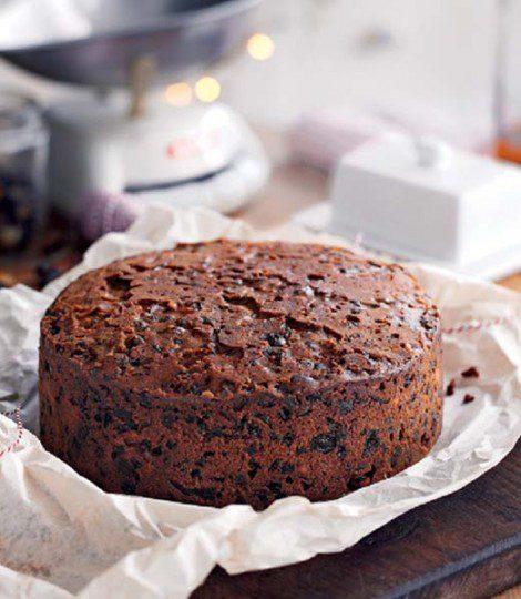 Traditional English Fruit Cake Recipe