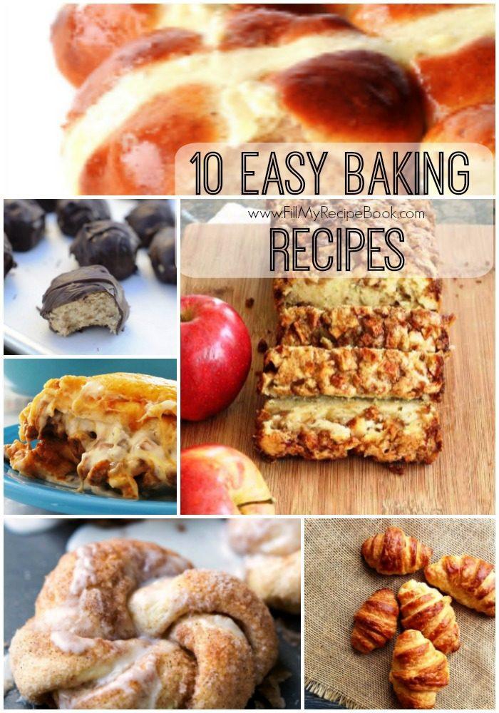 10 Easy Baking Recipes Fill My Recipe Book