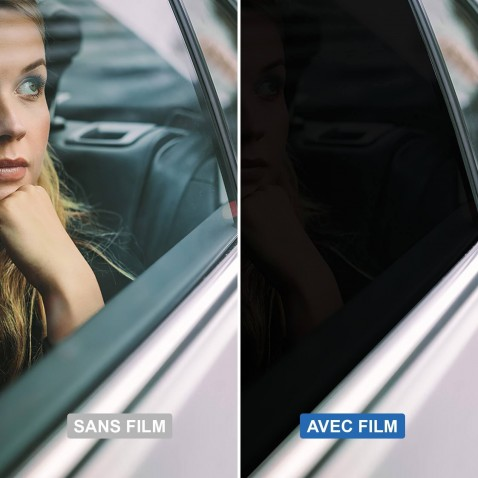 film teinte pour voiture thermoformable noir tres fonce 5