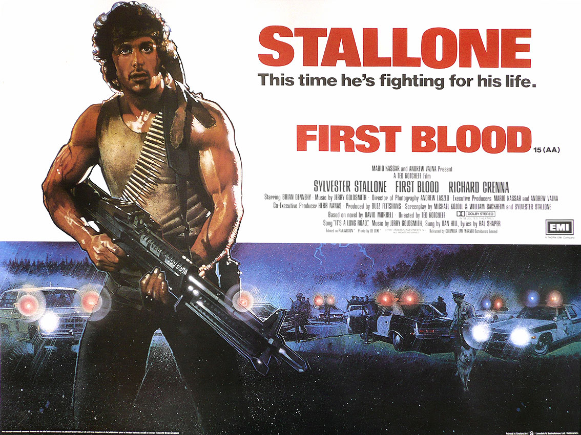 First Blood (1982).