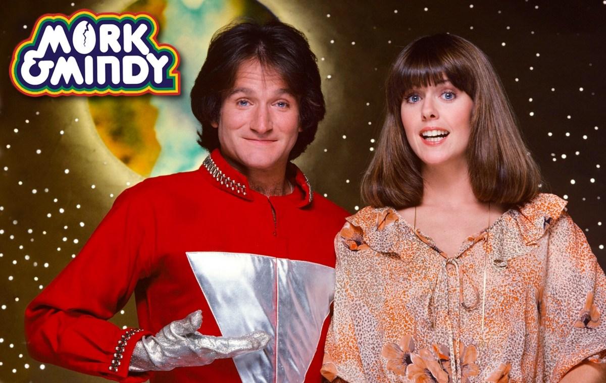 "Robin Williams' on-set ""antics"" on Mork & Mindy revealed in new book."