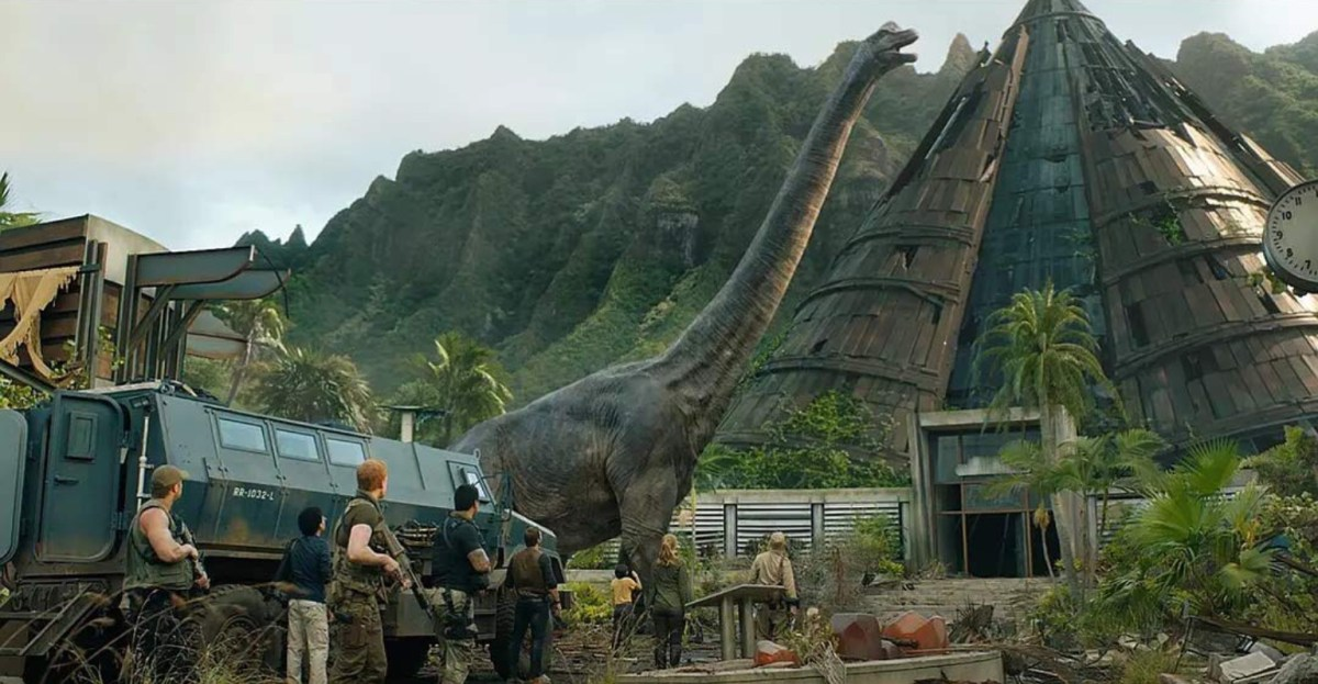 Jurassic World: Fallen Kingdom (2018) - Blu-Ray Review.