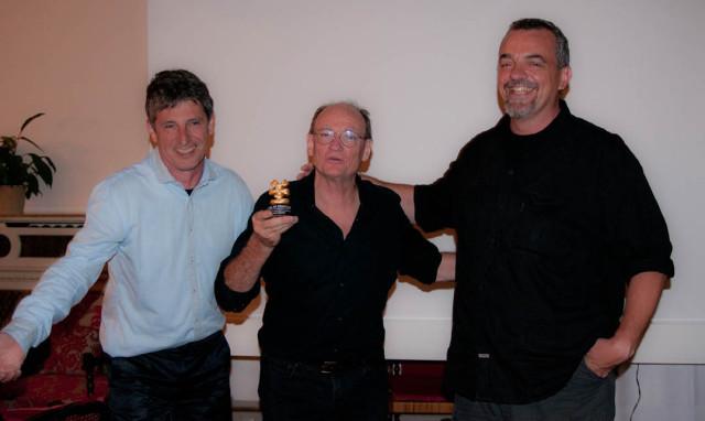 R-L: Christian Betz, Larry McConkey, Alex Brambilla