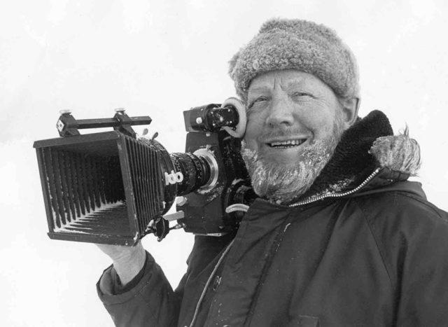 Rune Ericson somewhere near the North Pole