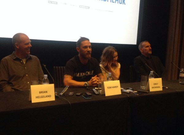 Tom Hardy, Emily Browning, Christopher Ecclestone & Brian ...