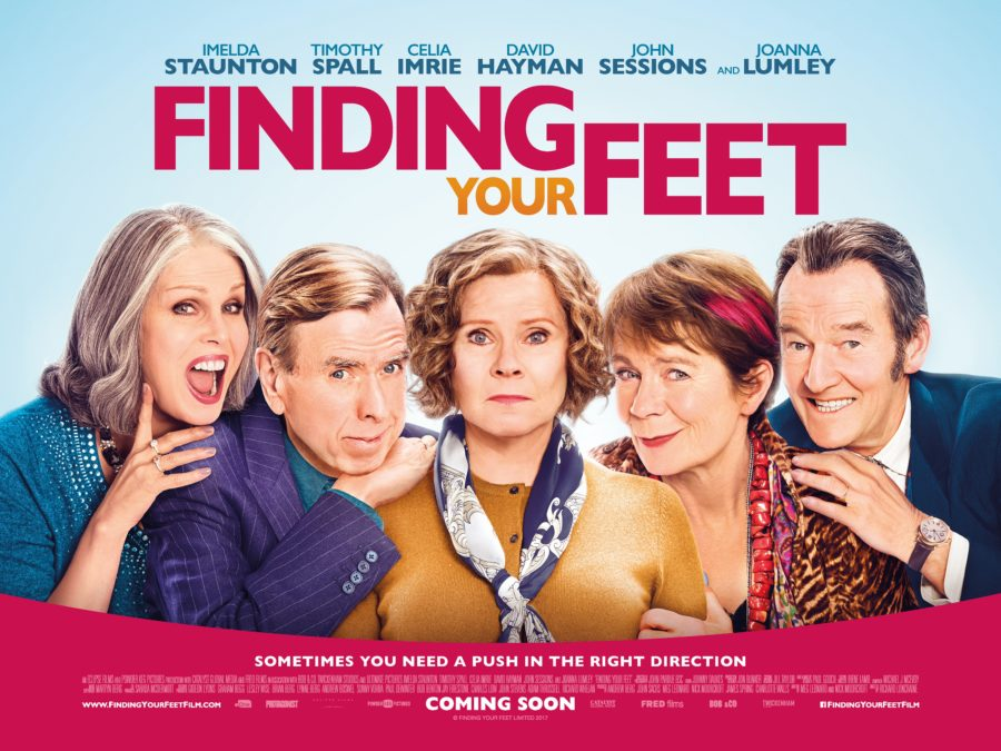 Image result for finding your feet movie poster